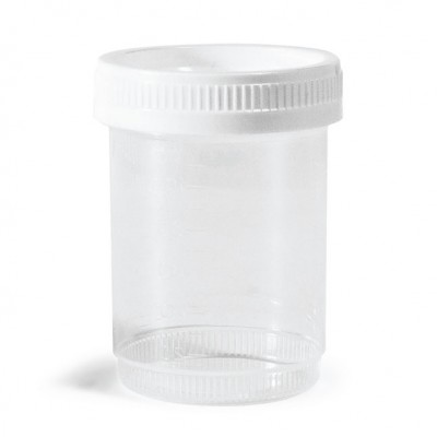 Sterile Urine Cup with Lid - 90 ml
