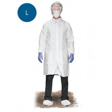 PROGUARD Breathable Protective Lab Coat - Large