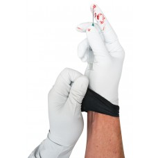 XP100 Nitrile White Gloves
